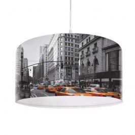 Moderne Hängeleuchte City mit Fotodruck