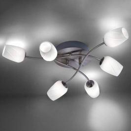 Anastasia - 6fl. LED-Deckenlampe mit Dimmer