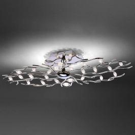 Florian - längliche LED-Deckenlampe, 24 fl.