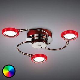 LED-Deckenleuchte Turner mit tollen Farbeffekten