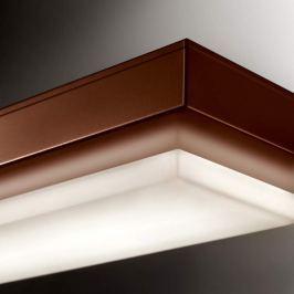 LED-Wandleuchte Logic 3000 K schokoladenbraun