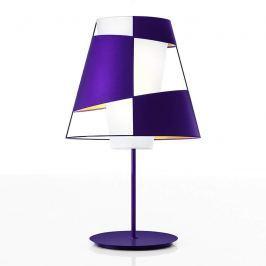 Crinolina - eine besondere Tischleuchte, violett