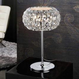 Tischleuchte DIAMOND mit Kristallen 24