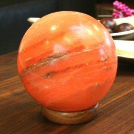 Sphärische Salzleuchte MARS