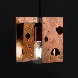 Knikerboker Buchi - LED-Hängeleuchte in Kupfer