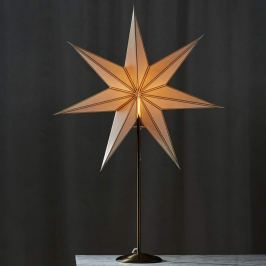 Bezaubernde Stern-Dekoleuchte Nicolas messing