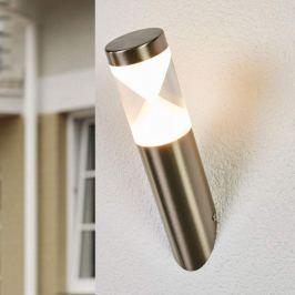 Schräge LED-Wandlampe Fabrizio für außen