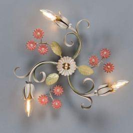 3-flammige florentinische Deckenlampe Toscana