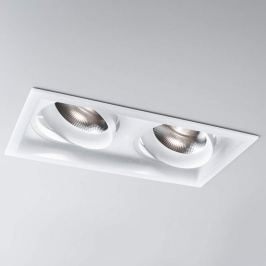 LED-Einbauspot Savo 20 Square 2fl, medium, 3.000K