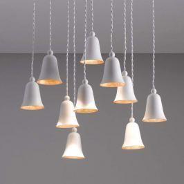 10-flammige LED-Hängeleuchte Clòche in Glockenform
