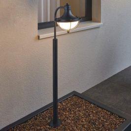 Monasterio - dekorative Wegeleuchte mit Glasschirm