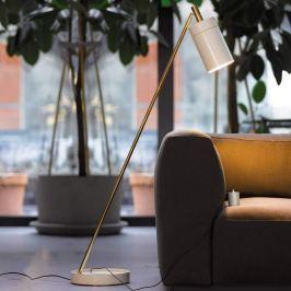 ANTA Nobu - LED-Stehleuchte, messing-weiß