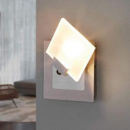 Moderner LED-Spot Livius mit Glasplatte