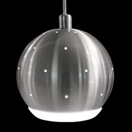 Moderne LED-Pendelleuchte Pino nickel matt