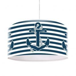 Maritime Hängeleuchte Ahoi mit Anker-Motiv