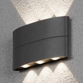 Effektvolle LED-Außenwandlampe Chieri