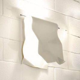 Knikerboker Stendimi - weiße LED-Wandleuchte 40 cm