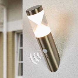 Außenwandlampe Fabrizio mit LEDs und Sensor