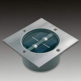 Viereckiger Solar-LEDBodeneinbaustrahler Lugo IP44