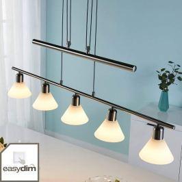 Per Schalter dimmbare LED-Hängelampe Eleasa