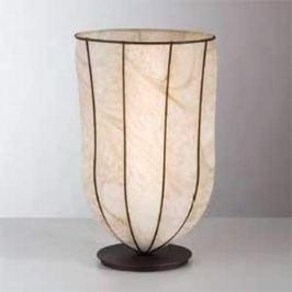 Antike Tischleuchte GIARA, 38 cm