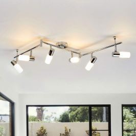 6-flammige LED-Deckenleuchte Augustina