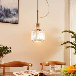 Schmale LED-Pendellampe Tanika