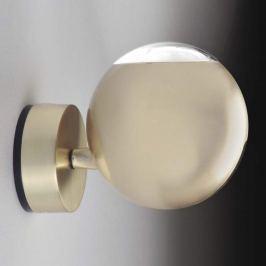 Milan Bo-La - kugelförmige Wandlampe, gold