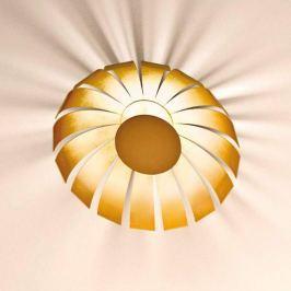 Vergoldete LED-Designer-Deckenleuchte Loto, 20 cm