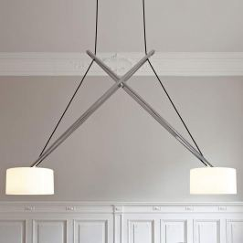 serien.lighting Twin - bewegliche LED-Hängelampe