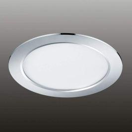 Moderne LED-Deckeneinbauleuchte Pindos, chrom