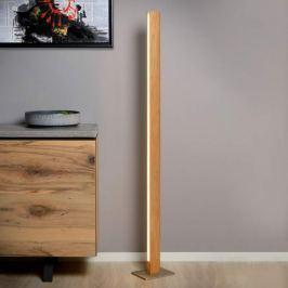 Hölzerne LED-Stehleuchte Sytze