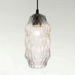 Elegante Glas-Pendelleuchte Origami transparent