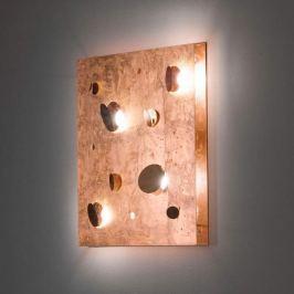 Knikerboker Buchi  - kupferfarbene LED-Wandleuchte