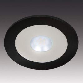 Lichtstarke LED-Einbauleuchte AR 78 schwarz