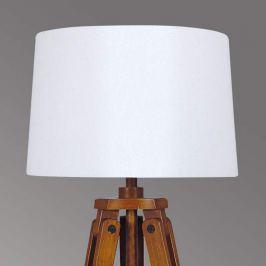 Holz-Stehleuchte Marvin in Stativform, Höhe 122 cm