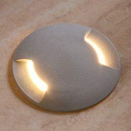 Boden-Einbauleuchte LED Ceci 120-2 L in Grau