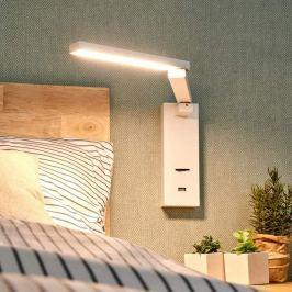 LED-Wandleuchte Salloa mit Schalter