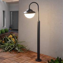 Pinara - LED-Wegeleuchte in gebogener Form