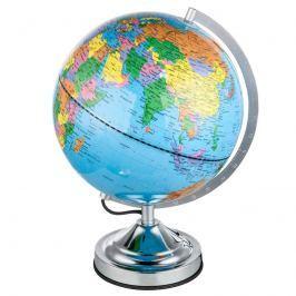 Tischleuchte Warin in Globusform
