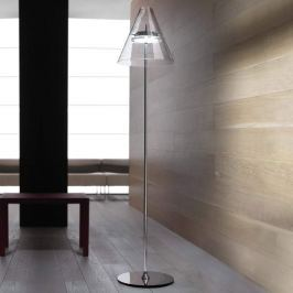 Durchsichtige LED-Stehleuchte Caprina