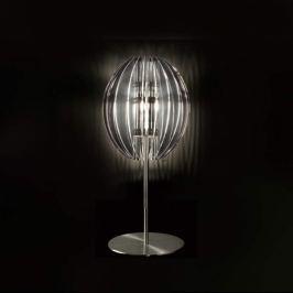 Moderne Tischleuchte PLANET hoch, transparent