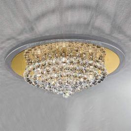 Ausdrucksstarke Kristall-Deckenleuchte TUILA 62 cm