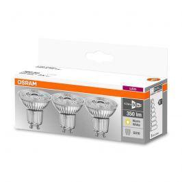 LED-Reflektor GU10 4,3W, warmweiß, 350 lm, 3er-Set