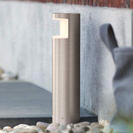 Philips Squirrel LED-Sockelleuchte aus Edelstahl
