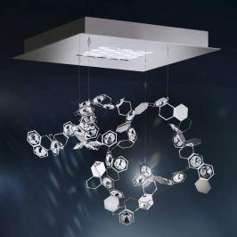 Swarovski Crystalon Pendellampe mit LEDs, 39x39cm