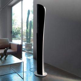 Artemide Cadmo schwarz-weiße LED-Stehlampe 2.700 K
