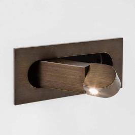 Astro Digit LED-Einbauleuchte als Leselicht bronze