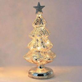 Beleuchteter LED-Weihnachtsbaum Mercury aus Glas