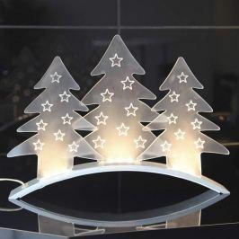Durchscheinende Dekorationsleuchte Plexi Trees LED